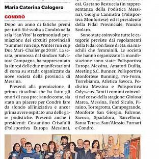 Gazzetta del Sud 03.03.2019